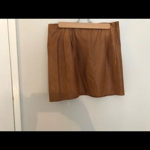 Vince 100% leather skirt